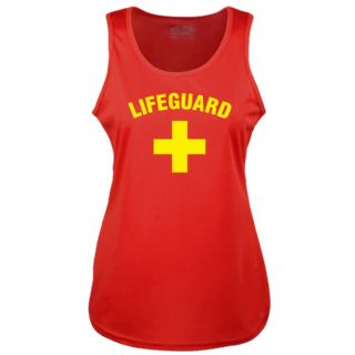 LADIES LIFEGUARD + RED COOLTEX VEST